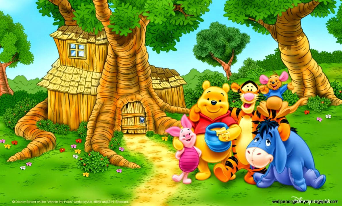 Wallpapers hd cute winnie the pooh and friends wallpaper gallery view original size voltagebd Image collections