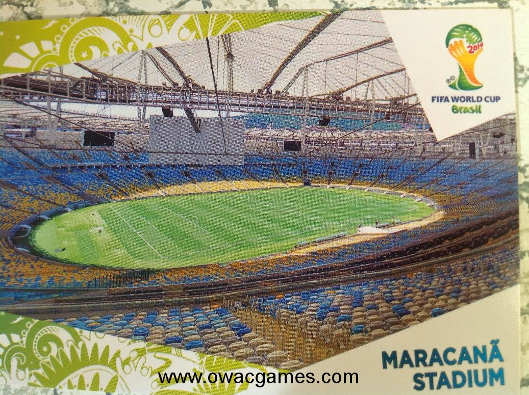 adrenalyn update Maracaná