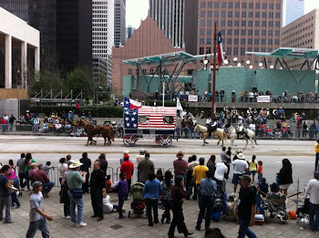 HOUSTON RODEO PARADE CHUCK WAGON
