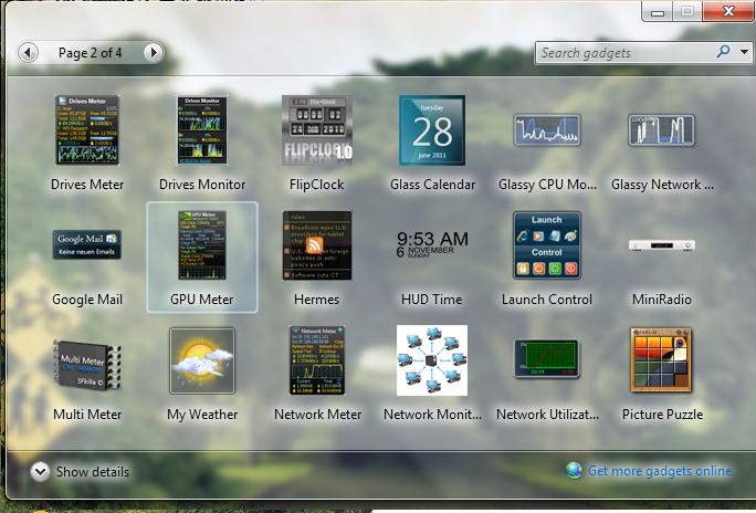 Windows 7 forex gadget download
