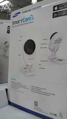 Samsung Smartcam Home Monitoring Camera SNH-E6413BN baby monitor