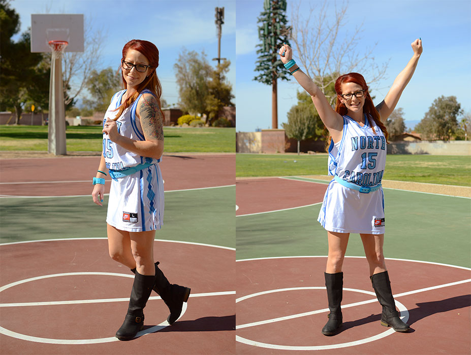 The Winky Way: March Madness! Basketball Jersey Fashion