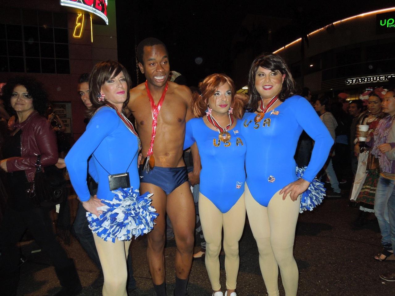olympic team usa west hollywood halloween carnaval