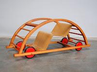 cotxe per nens joguina balancí vintage