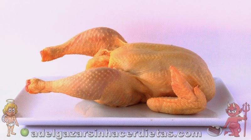 CON VIDEO. COCINA FÁCIL Y SANA. Cómo cortar un pollo de manera fácil.