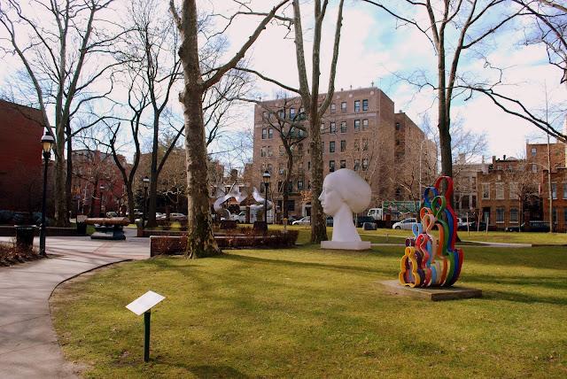 Mille Fiori Favoriti Walking Brooklyn Pratt Institute
