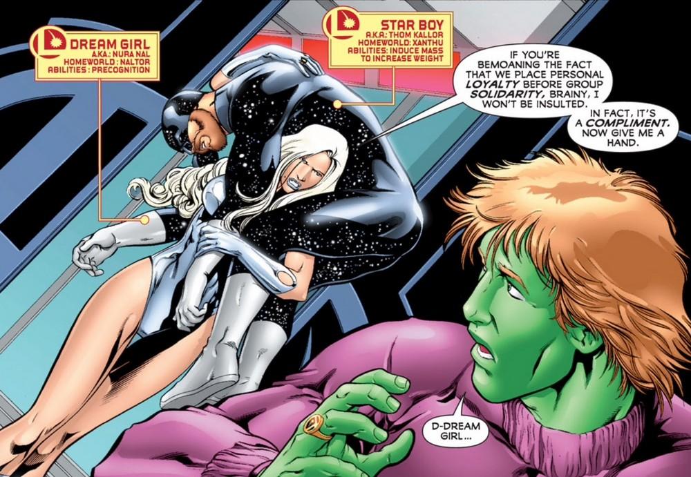 legion of super heroes forgotten juggernauts part 9