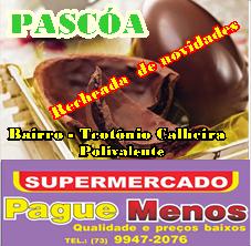 SUPERMERCADO PAGUE MENOS DOIS ENDEREÇO  - TÉOTONIO E POLIVALENTE