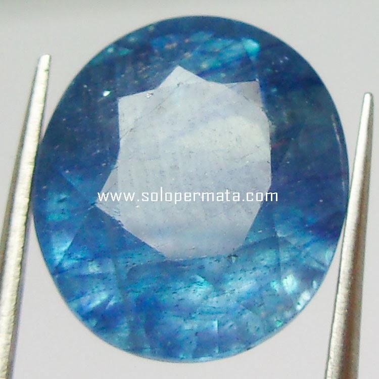 Batu Permata Blue Sapphire+memo - 22A01