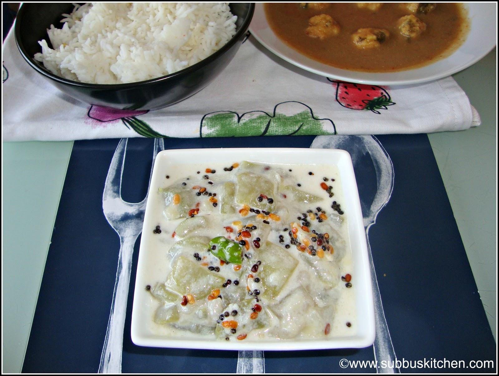 Surakkai Paal Kootu(Bottlegourd Milk Stew)
