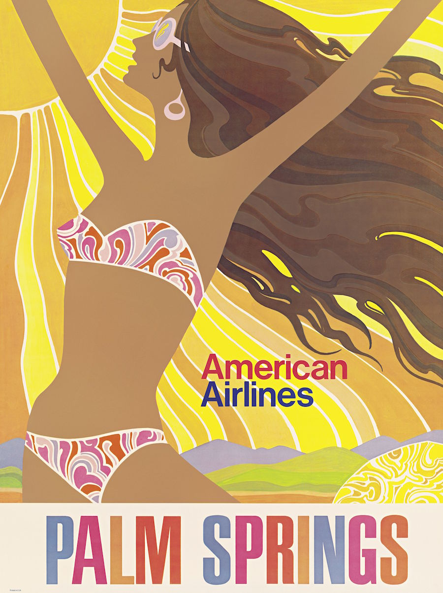 American Airlines airline advertising branding