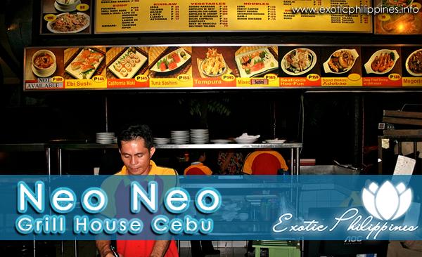 Neo Neo Grill House Cebu