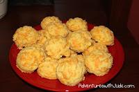 Garlic cheddar biscuits free of dairy soy peanut fish shellfish gluten