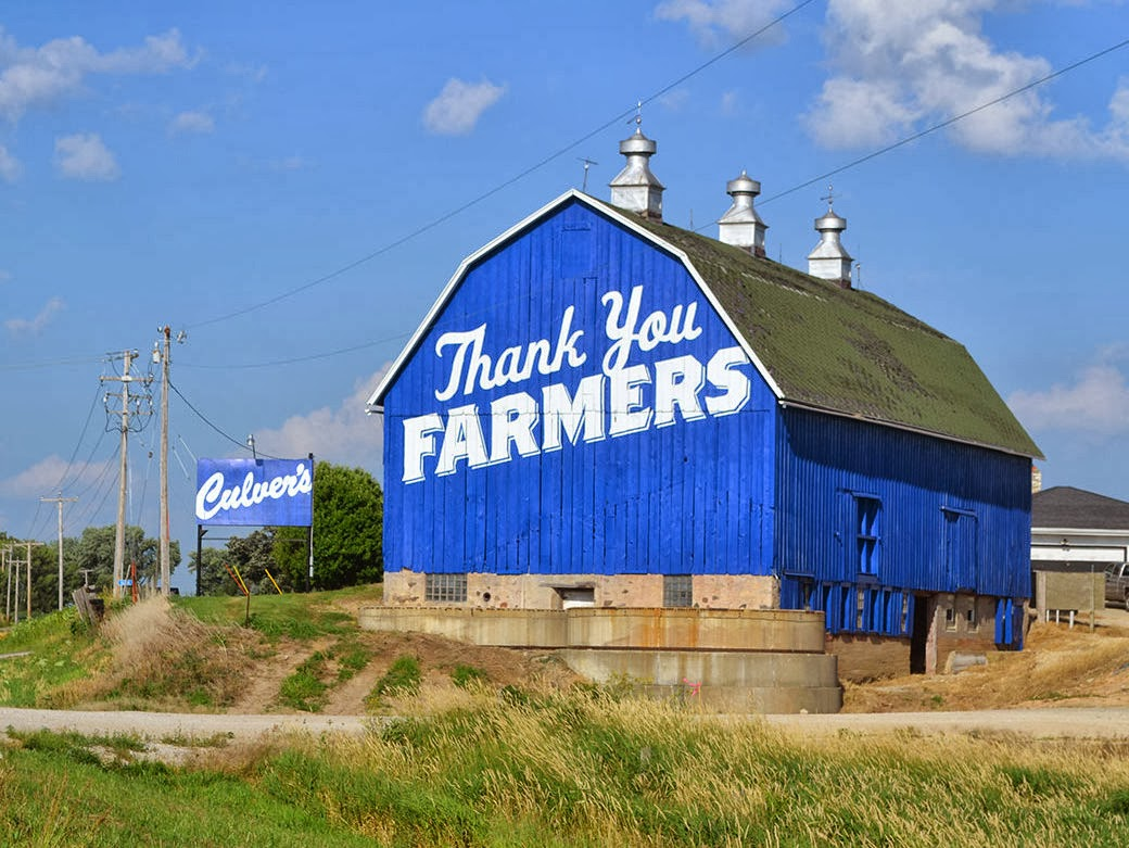 Culver's thank you barn