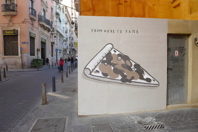 """Fast Food Is Not A Crime"" A New Series Of Pieces by Spanish Artist Escif in Valencia, Spain. 3"