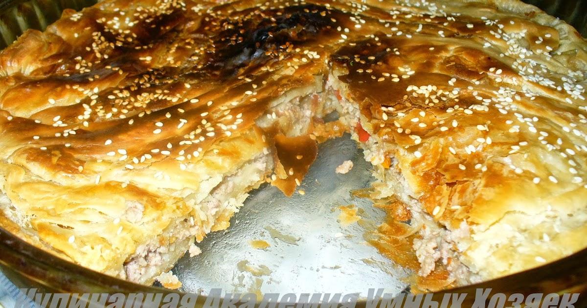 Слоеный торт в круглой форме рецепт фото
