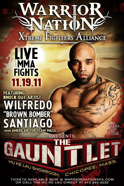 Wilfredo Santiago XFA Warrior Nation Poster