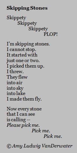 How to denote a stanza break in an essay