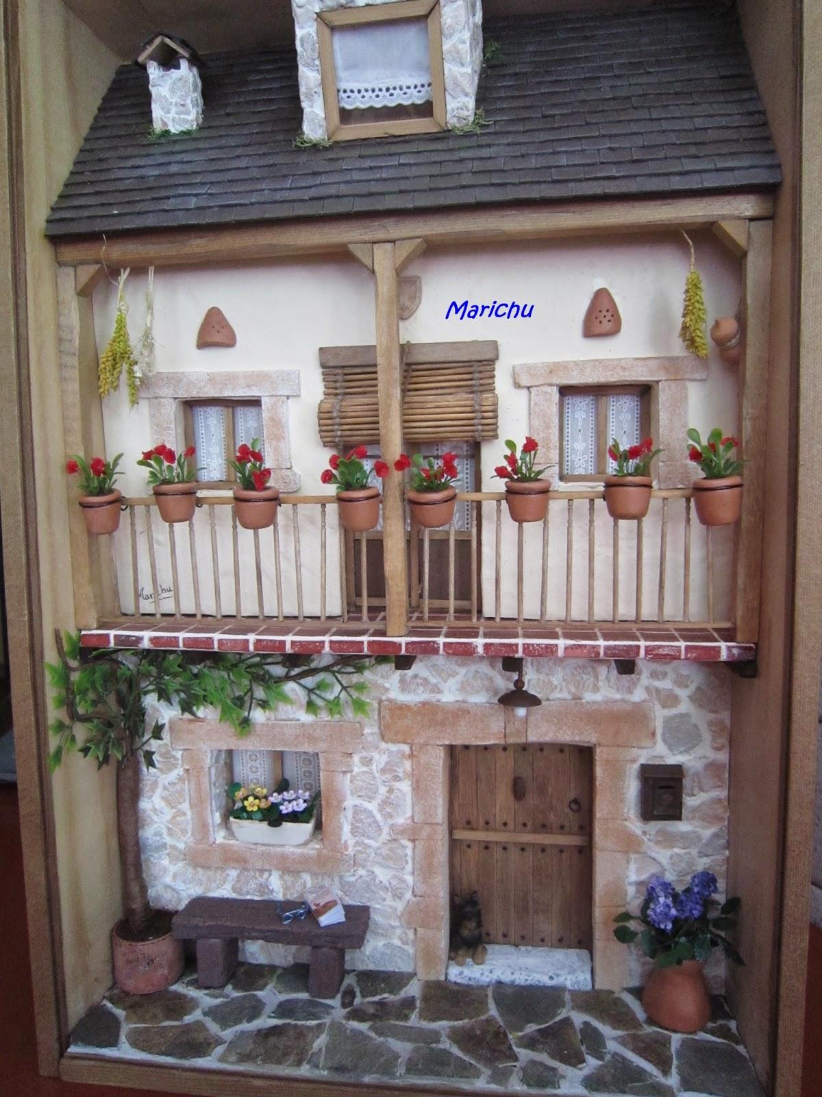 Las minis de marichu construcci n de fachada de casa parte 1 for Cocinas coloniales modernas
