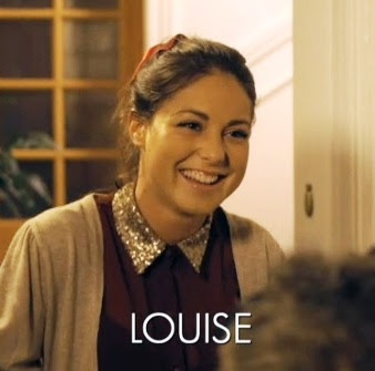 Madeinchelsea on Louise Thompson Sequin Collar Blouse Made In Chelsea Episode 3