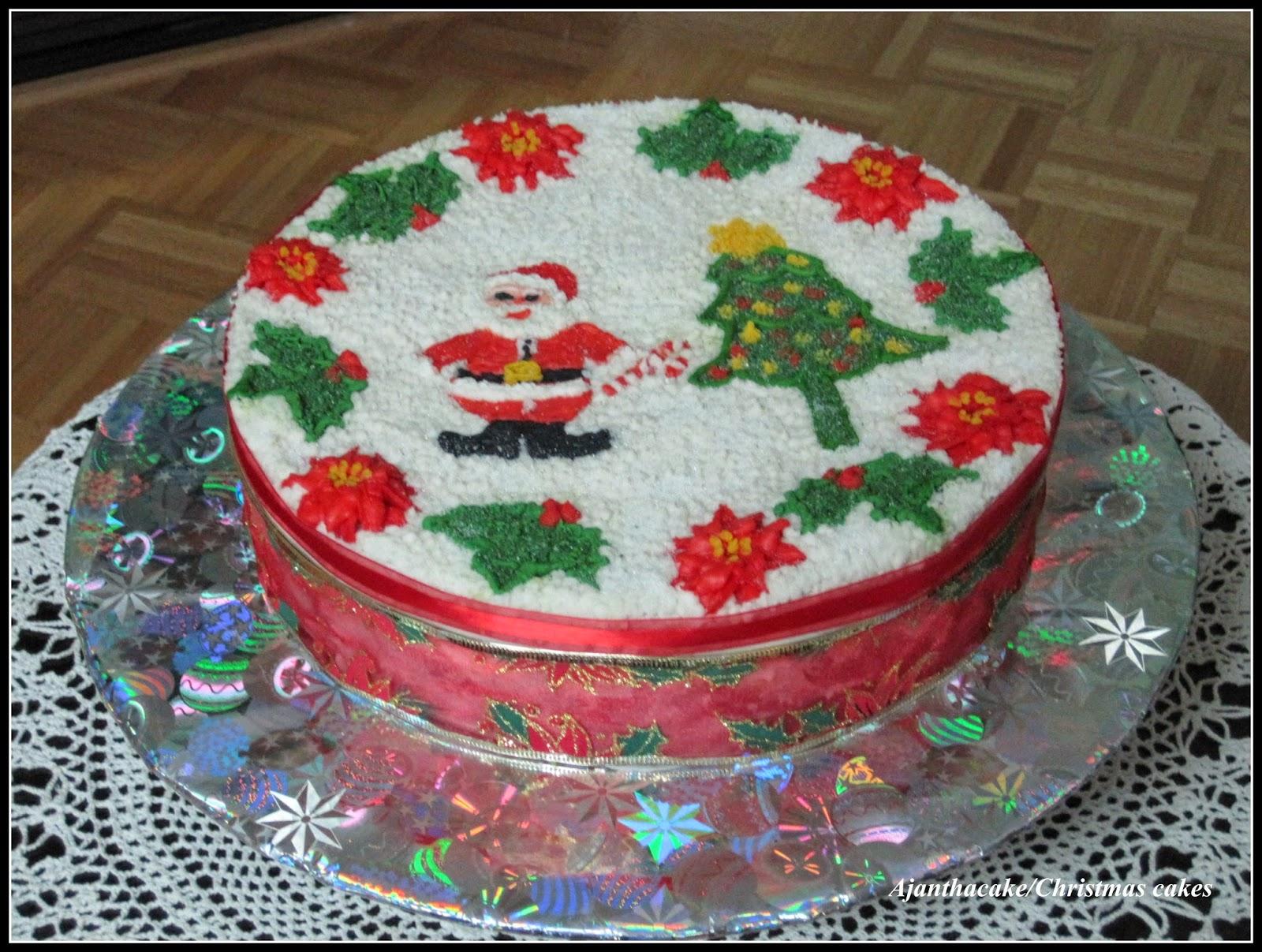 Ajantha Cakes/Christmas Cakes