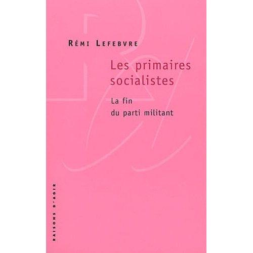 Primaires Socialistes