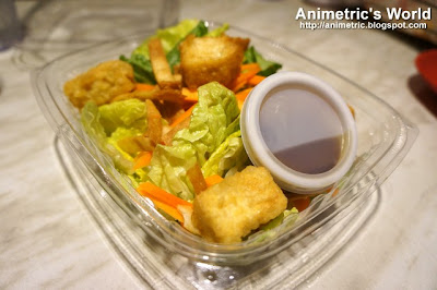 Ginger Tofu Salad at Bonchon Chicken