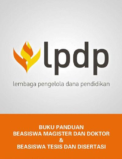 Beasiswa S2-S3 LPDP Depkeu RI 2013