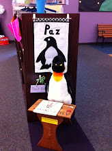 Look Out World! It's Paz the Library Penguin!