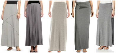 Studio 253 Knit Maxi Skirt w/ Spliced Seams $12.48 (regular $24.99)  Joe Fresh Pleat Maxi Skirt $14.94 (regular $39.00)  Old Navy Rollover Waist Maxi Skirt $25.00 (regular $32.94)  Max Studio Ruched Waist Maxi Skirt $34.30 (regular $49.00)  Alternative Double Dare Maxi Skirt $48.00 other colors as low as $19.20