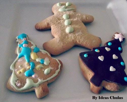 Presentación de las galletas decoradas