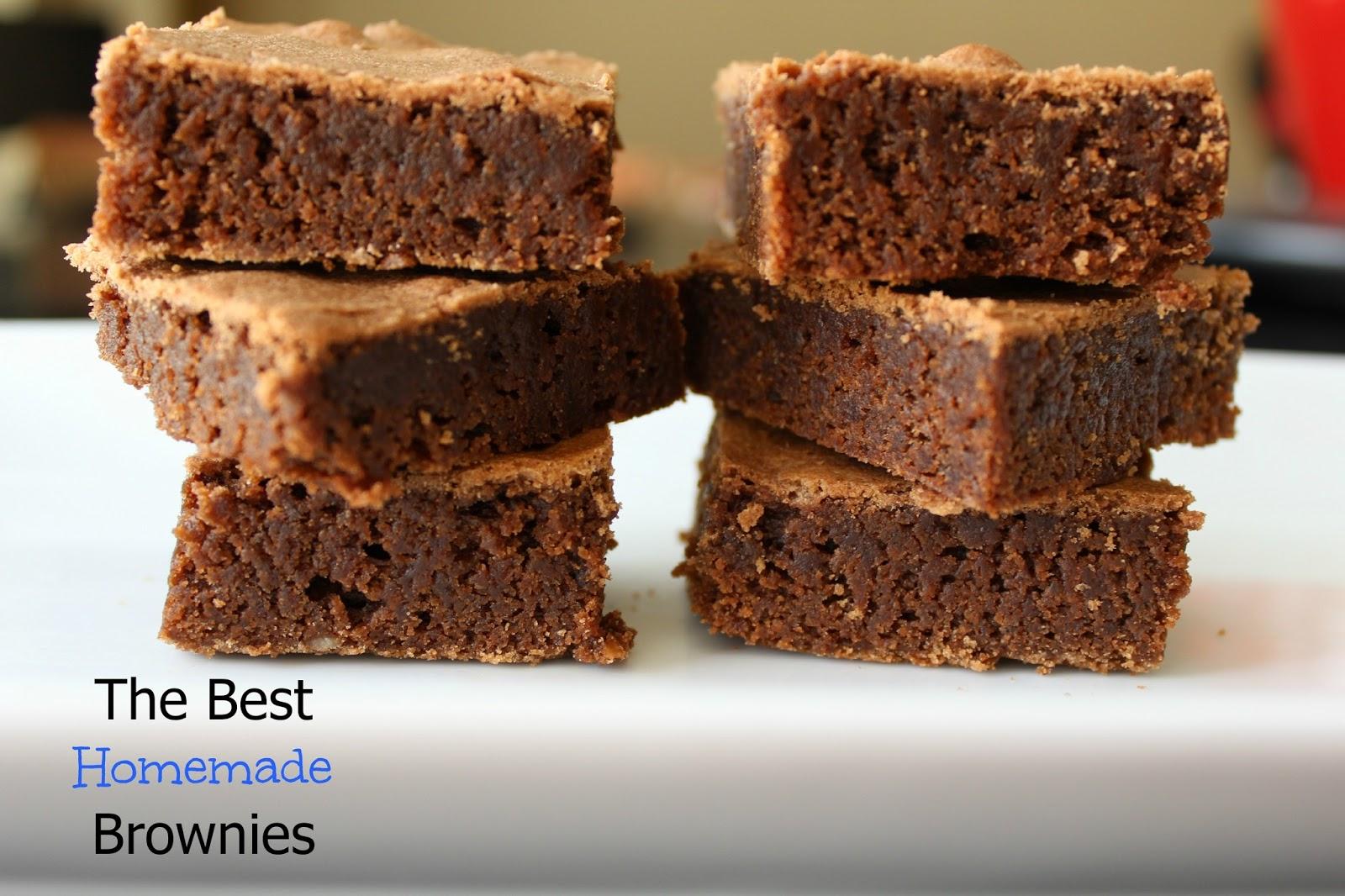 Best Homemade Brownie Recipe — Dishmaps