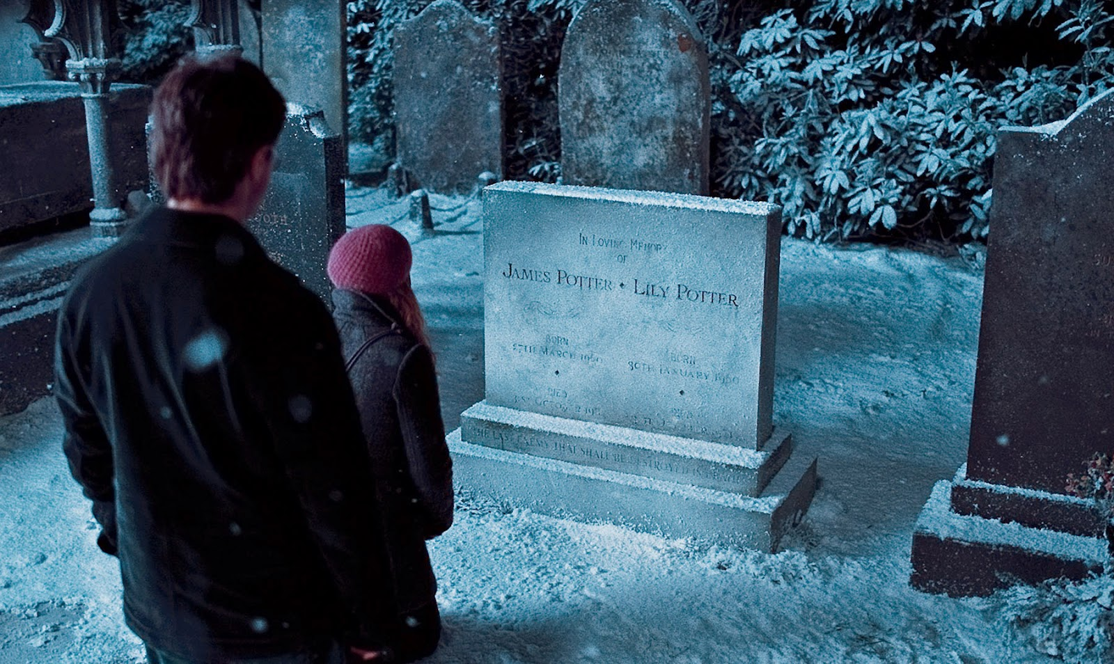 Clicks clan film review harry potter and the deathly hallows hermione finds the same symbol as is in her book while harry finds his parents its sweet the way she makes the little flower wreath for them what is biocorpaavc Choice Image