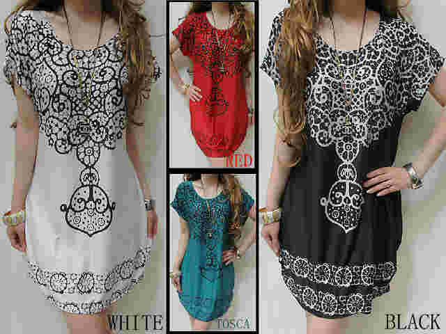 Dengan melihat beberapa contoh Dress batik Terbaru yang ada di atas ...