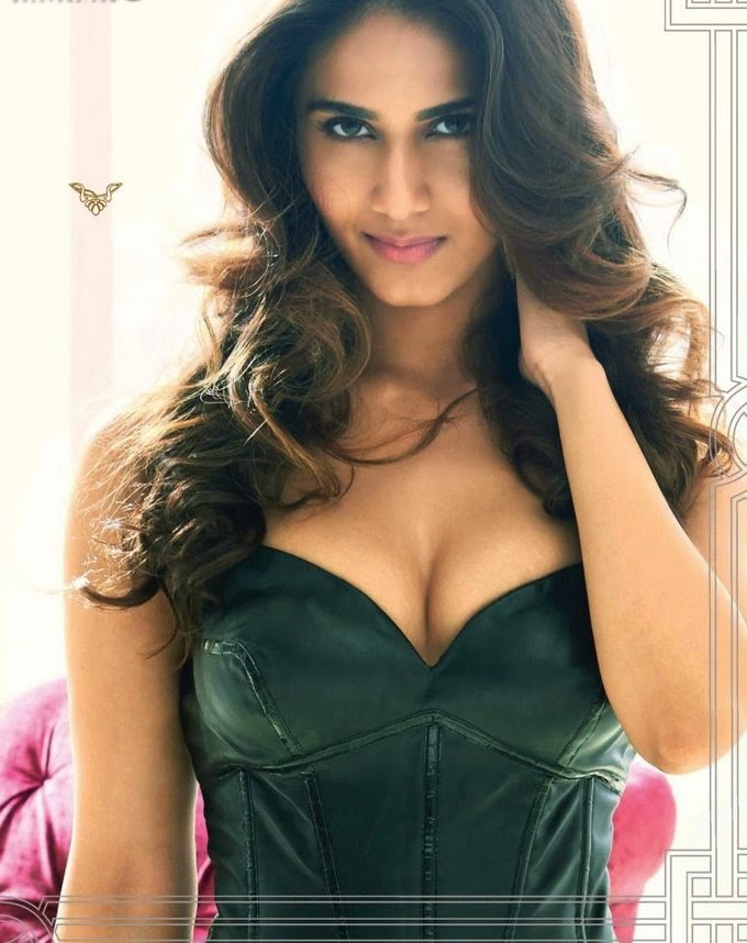 vaani-kapoor-in-kinky-leather-dress-in-maxim-magazine