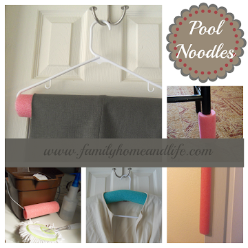 Re-purposed Pool Noodles