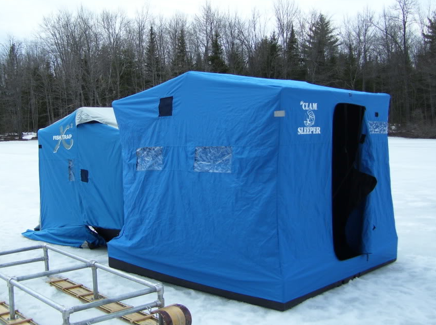 Portable Ice Shelters : Bass junkies fishing addiction choosing the right