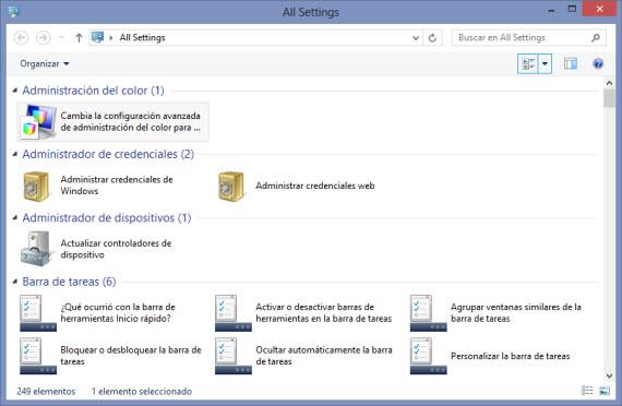 Activa el Modo Dios en Windows 8