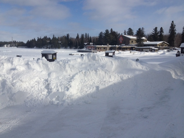Rainy lake houseboats fishing report march 2013 for Rainy lake fishing report