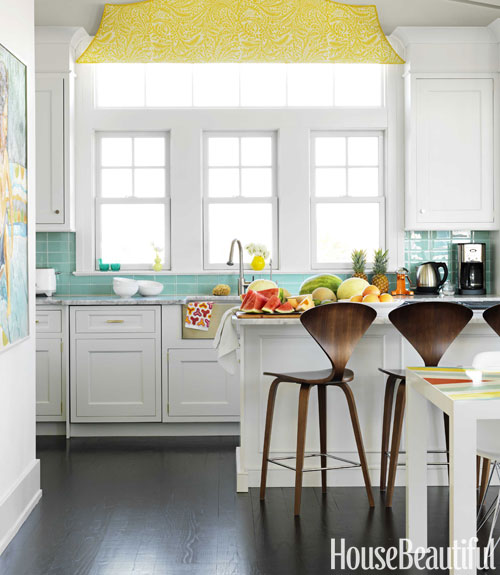Retro Kitchen Backsplash: You Are Just My Cup Of Tea: Retro Beach House