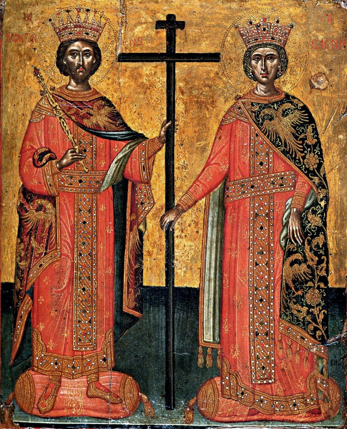 Azi 21 mai praznuirea Sfintilor Imparati Constantin si Elena !