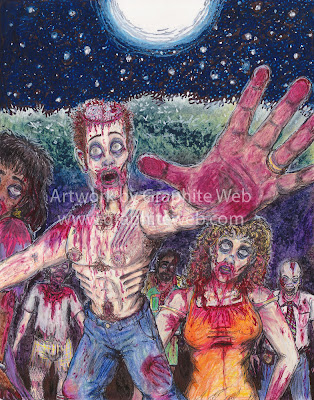 Zombies Attack Artwork