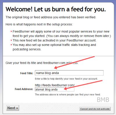 bagaimana cara membuat feedburner 3
