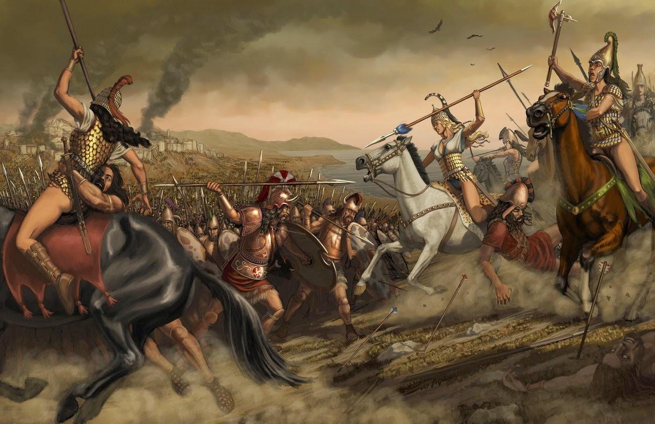 Las amazonas en la mitologia griega las cr nicas de maite for En la mitologia griega la reina de las amazonas
