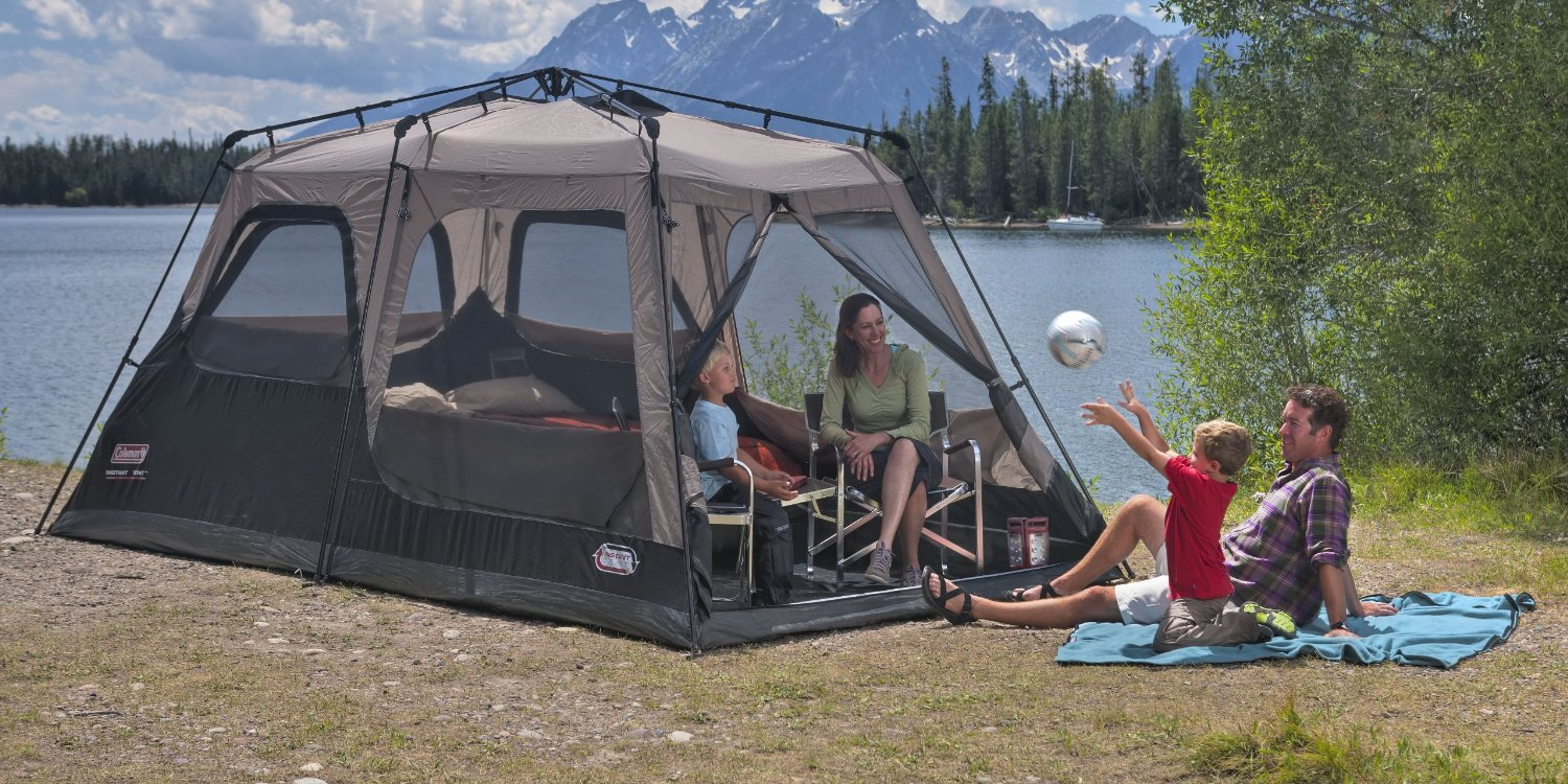 Coleman 8-Person Instant Tent & Wellbeing Enhanced: Coleman 8-Person Instant Tent Best Price