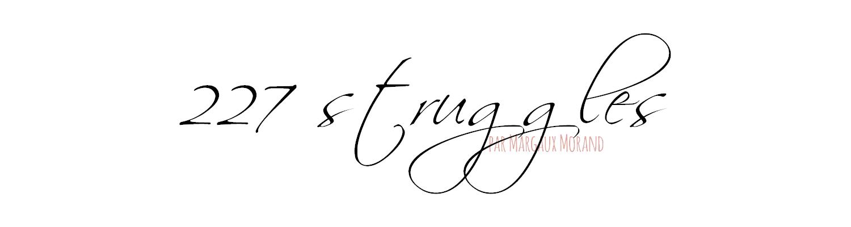 227 struggles