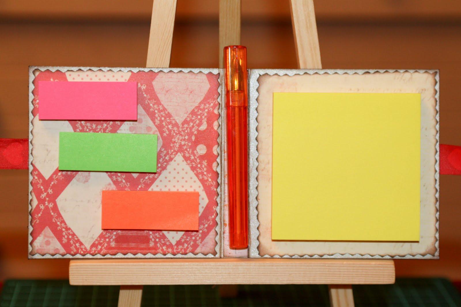 Как сделать ежедневник своими руками из бумаги