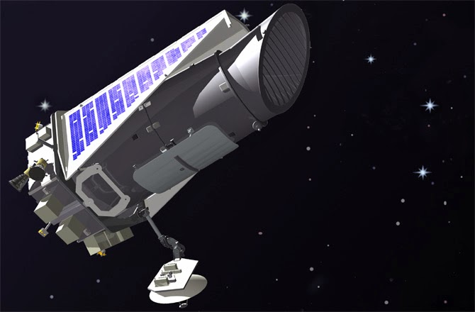 kepler spacecraft location - 670×440