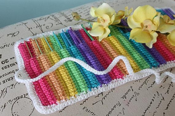 Crochet Patterns K Hook : Hobilendik - Kad?n D?nyas? ve Hobileri: Rengarenk ?rg? Eli?i ...