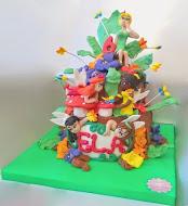 Tinkerbell ve perileri Pasta